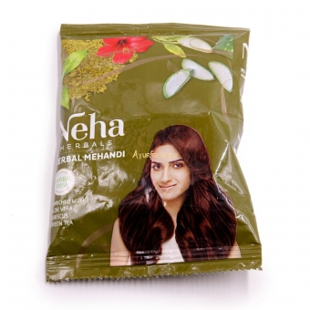 Хна для волос и татуажа Неха Хербал Мехенди 20 г, Neha Herbal Mehandi