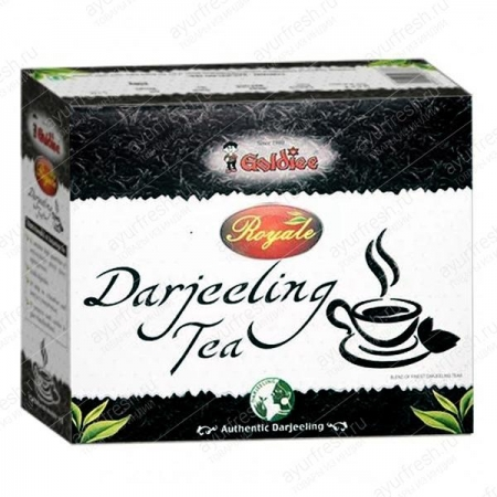Чай Goldie Royale Darjeeling Tea листовой