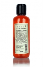 Пена для ванны с Жасмином и Лавандой Khadi 210 мл Herbal Aromatic Bubble Bath