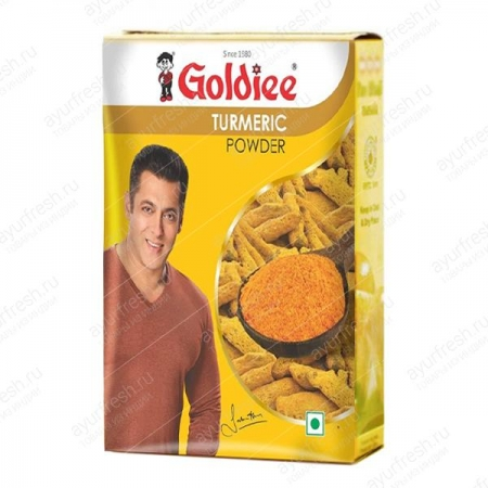 Куркума молотая Turmeric powder Goldiee