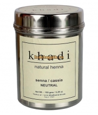 Травяная хна 100% Бесцветная Khadi 150 г Herbal Natural Henna (senna/cassia