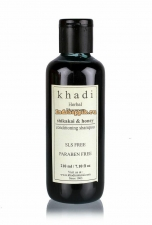 Травяной шампунь Шикакай и Мед, Khadi 210 мл Shikakai & Honey Shampoo