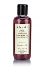 Гель для душа Khadi Лаванда и Иланг-Иланг, 210 мл Lavender & Ylang Ylang Body Wash