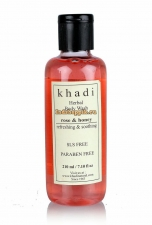 Гель для душа Khadi Роза и Мед, 210 мл Rose and Honey Body Wash
