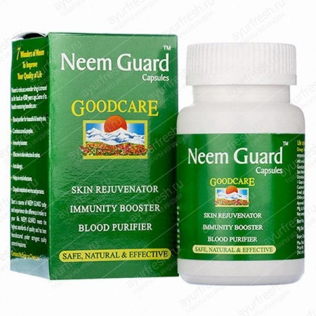 Ним гард (Neem Guard), Goodcare, 60 кап.
