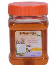 Мед цветочный, Patanjali Pure honey multiflora, 250gm