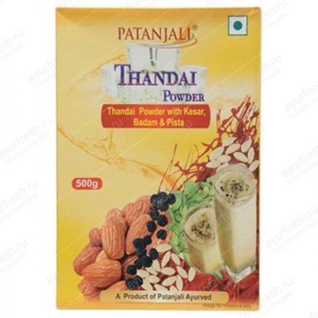 Тандай порошок, Patanjali Thandai powder, 500 gm