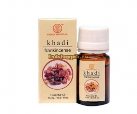 Эфирное масло Ладан 15 мл Khadi Frankincense Oil