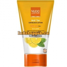 Лосьон против загара, VLCC Antitan Sun Screen Lotion SPF 25 150g