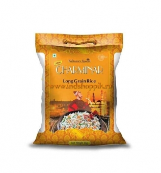 Рис Басмати Чарминар, Kohinoor Charminar Long Grains Basmati Rice
