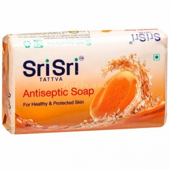 Мыло Антисептическое 75 г, Sri Sri Tattva Antiseptic Soap