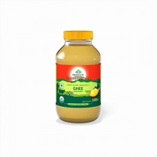 Масло гхи 500 мл, Organic Cow Ghee 500 ml Bottle Organic India