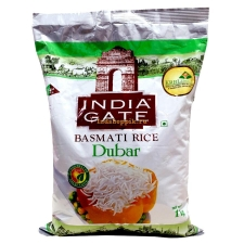 Басмати рис Дубар 1 кг, India Gate - Basmati Rice Dubar