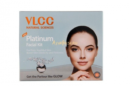Набор для лица Платиновый 60 г, VLCC Platinum Facial Kit