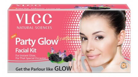 Набор для лица Сияние 60 г, VLCC Party Glow Single Facial Kit