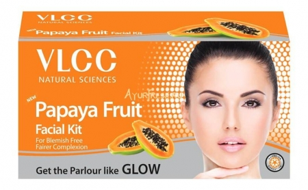 Набор для лица Папайя 60 г, VLCC Papaya Fruit Facial Kit
