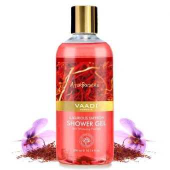 Гель для душа Шафран 300 мл, Vaadi Luxurious Saffron Shower Gel