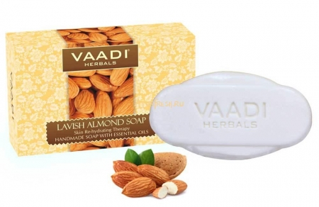 Мыло Миндаль 75 г, Vaadi Lavish Almond Soap