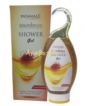 Гель для душа Саундарья 250 мл, Patanjali Saundarya Shower Gel