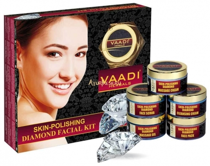 Набор Алмазный 270 г, Vaadi Skin-Polishing Diamond Facial Kit
