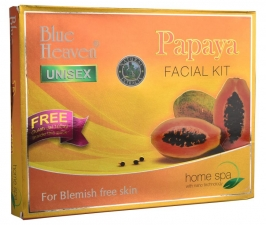 Набор для лица Папайя 850 мл, Papaya Facial Kit Blue Heaven