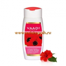 Кондиционер Мак и Гибискус 350 мл, Vaadi Ultra Nourishing Corn Rose Conditioner with Hibiscus Extract