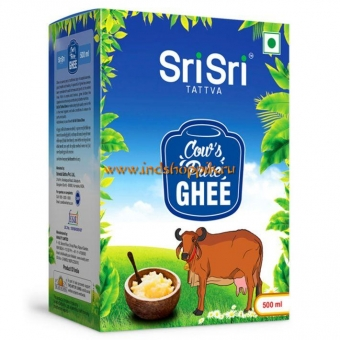 Масло Гхи 500 мл, Sri Sri Tattva Cow's Pure Ghee