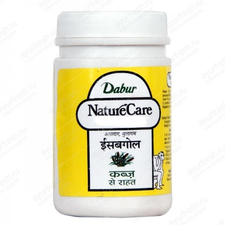 Исабгол банка 100 г Double, Dabur Nature Care Isabgol