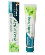 Зубная паста Актив Фреш 100 г, Active fresh gel Himalaya