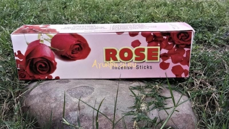 Благовония Роза 200 г, Gomata Rose Incense Sticks
