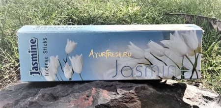 Благовония Жасмин 200 г, Gomata Jasmine incense sticks